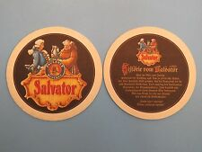 Beer Bar COASTER: SALVATOR Doppelbock  Paulaner Brauerei Munich Germany Brewery