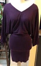 Guess By Marciano Purple Contineous Sleeve Women Mini Dress Size Small