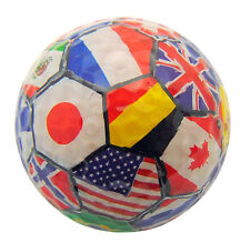 Novelty Golf Ball with Country Flags for the World Soccer Cup Gift Boxed