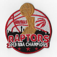 NBA Champions 2019 Toronto Raptors Iron on Patches Embroidered Final Patch F