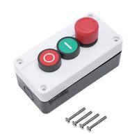 Arret d'urgence NC NO bouton poussoir momentane rouge et le vert passe 600V st