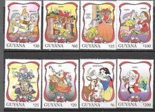 Guyana - 1996 Disney - '96 Christmas - Snow White - MNH Set