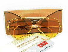 Ray-Ban USA Vintage 1970s NOS B&L Aviator Ambermatic PhotoChromic New Sunglasses