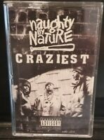 NAUGHTY BY NATURE Cassette Tape - Craziest - East Coast Rap 1995 rare hip hop