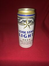 ALUM LONE STAR LIGHT BEER CAN BANK HEILEMAN SAN ANTONIO TEXAS DON'T MESS WITH