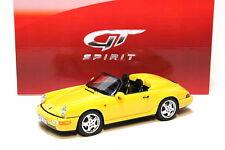 1:18 GT Spirit Porsche 911 (964) Speedster yellow NEW bei PREMIUM-MODELCARS