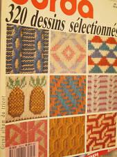 Special Burda 320 Dessins Selectionnes Tricot (Knitting) Magazine #E952