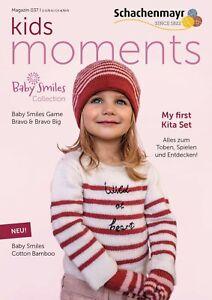 Schachenmayr Magazin 37 Kids Moments Anleitungen Baby Smiles stricken