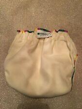 "Biobottomsâ""¢ Hi-Cut Natural Wool Cloth Diaper Cover in Rainbow (E 27-32 lbs)"