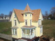 Vintage Victorian Style Handmade Dollhouse