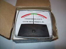 NEW GE GENERAL ELECTRIC 50-171119-DR721 COUNTER BALANCE PANEL METER P915