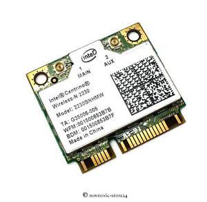 Intel 2230 Centrino 2230BNHW Wifi + Bluetooth 4.0 mini pci-E half size Card