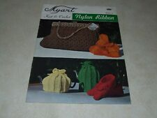 Myart Knit & Crochet Nylon Ribbon Book 6