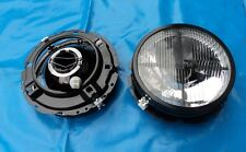 schwarze Scheinwerfer VW Golf 1 Cabrio Caddy 1 Käfer 16v G60 T2 Fadenkreuz 1