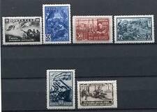 RUSSIA YR 1942,SC 867-72,MI 836-41,MLH,WW II SCENES,VERY RARE