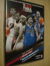2 DVD I LOVE NBA 2010-11 N°6 MIAMI HEAT VS DALLAS GARA 6 FINALE PLAYOFF ITA-ENG