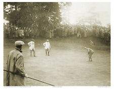 """4""""x6"""" PHOTO: FRANCIS OUIMET, HARRY VARDON, TED RAY 1913 US OPEN GOLF PLAYOFF TCC"""