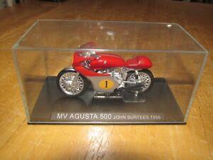 MV Agusta 500 John Surtees 1956 Diecast Racing Motorcycle Model