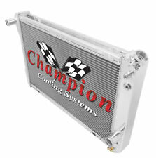 3 Row SR Champion Radiator for 1982 83 84 85 86 87 88 89 90 91 1992 Chevy Camaro