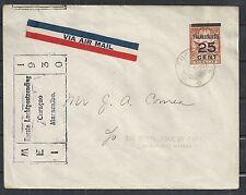 Curacao covers 1930 1st Flightcover Curacao-Maracaibo