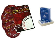 Complete Card Magic Deluxe 7 Volume Dvd and DeLand's Deck Over 170 Tricks