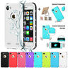 Shockproof Hybrid Rubber Waterproof TPU Case Cover For iPhone SE 5 6S 7 8 X Plus