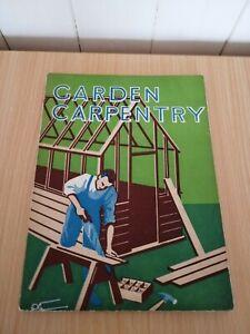 Vintage how to make garden carpentry Designs Book