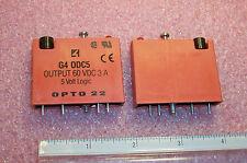 QTY (2) G4ODC5 OPTO 22 OUTPUT 60VDC 3A 5V LOGIC NOS