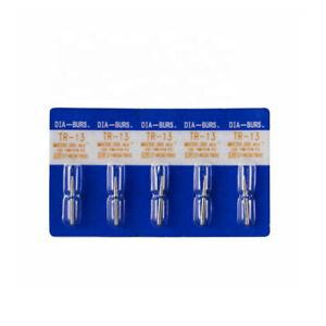 100pcs TR-13 Dental Diamond Burs for High Speed Handpiece Medium FG 1.6mm