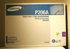 Samsung P206A Toner Cartridges (2 in box) - SCX-5935 series - BLACK - New