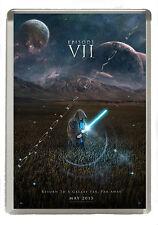 Star Wars VII Film Poster Fridge Magnet - Jumbo Size 90mm x 60mm