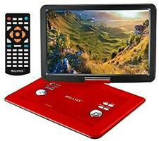 17'' Portable CD/DVD Player, HD Widescreen Display Built-in Rechargeable Battery