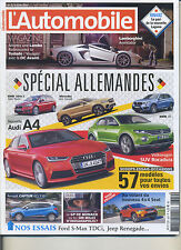 L'AUTOMOBILE MAGAZINE n°829 06/2015