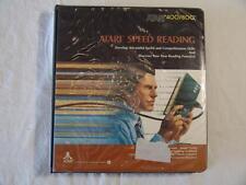 ATARI SOFTWARE  Atari Speed Reading for 400/800 Home Computers