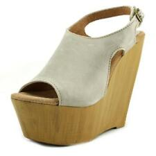 Sandalias con tiras de mujer de color principal gris talla 40