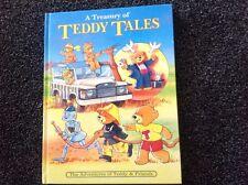 A Treasury of Teddy Tales Vintage 1997 Grandreams Hardcover illistrated