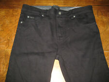 Obey mens pants skinny black size 32