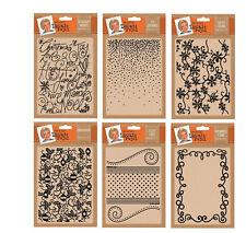 "Leonie Pujol - Crafters Companion Xmas Embossing folders 5"" x 7"""