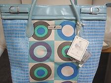 Isabella's Journey Blueberry Parfait medium carpet tote purse handbag NWT