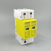 SPD 1P+N 10KA~20KA D ~385VAC House Surge Protective Low-voltage Arrester Device