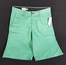 Volcom Frickin Chino Shorts MENS 30 Green Mint Cotton Polyester