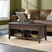 Lift Top Coffee Table - Coffee Oak - Carson Forge Collection (420421)