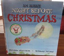 an AUSSIE NIGHT Before CHRISTMAS Yvonne MORRISON / Kilmeny NILAND  HARDback WOW!