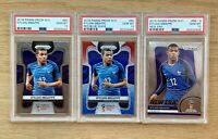 PSA 10 KYLIAN MBAPPE 2018 Panini Prizm World Cup Rookie RC LOT