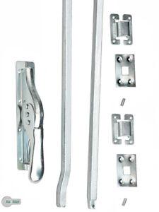 Tortreibriegel Torverschluss Türtreibriegel / Stange /Set auswählbar 14 Verzinkt