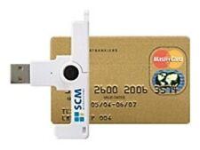 Scm Microsystems Smartfold Portable Id1 Contact Smart Card Reader - Usb Scr3500