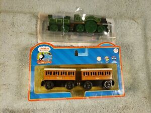 EMILY, CLARABEL, and ANNIE wooden  Toy Trains from THOMAS and FRIENDS