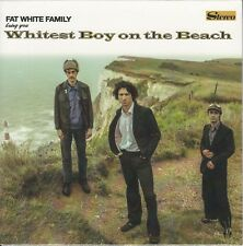 """FAT WHITE FAMILY Whitest Boy On The Beach 2016 UK limited clear vinyl 7"""" SEALED"""