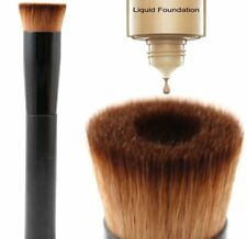 Glamza Makeup Liquid Foundation Powder Brush Make Up Cosmetics Tools Contour