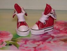 SHOES TO FIT THE TONNER PATIENCE DOLL CUTE RED TENNIS SNEAKERS